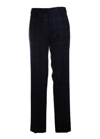 Todd Wool Plaid Trousers Pants