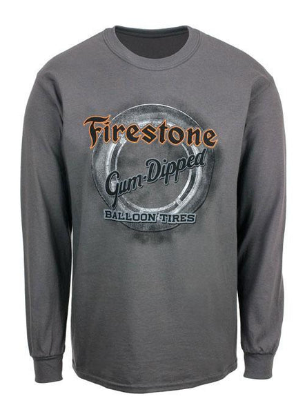Gum Dipped Tire Long Sleeve T-Shirt