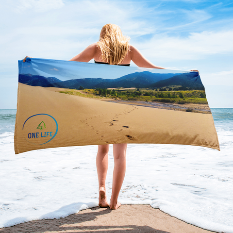 ONE LIFE GREAT SAND DUNES - Colorado Towel