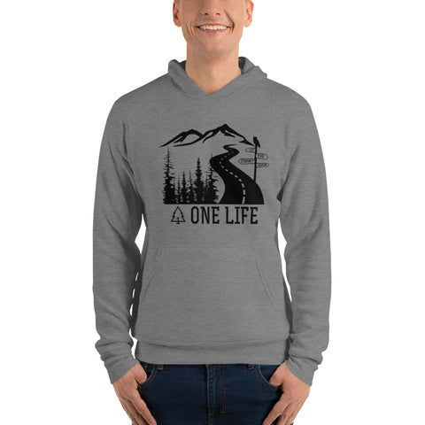 Let the Journey Begin Men's Hoodie