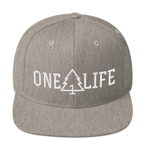 ONE LIFE Snapback Hat