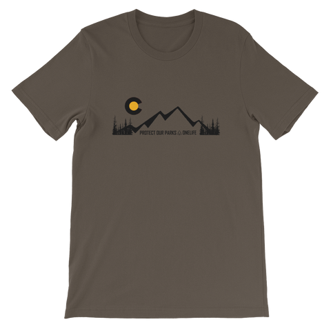 COLORADO PROTECT OUR PARKS - Short Sleeve T-Shirt