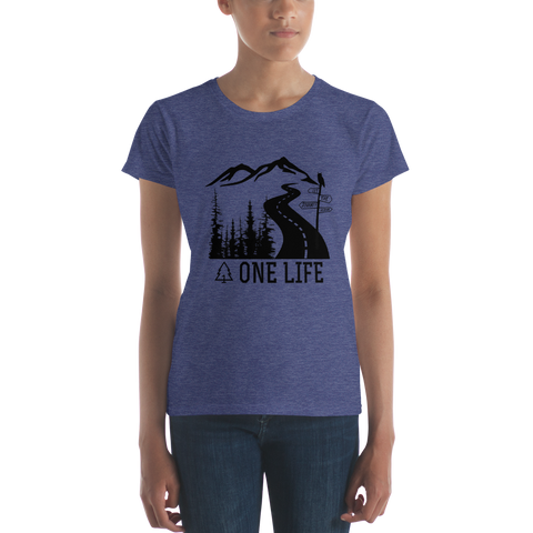 LET THE JOURNEY BEGIN - Short Sleeve T-Shirt
