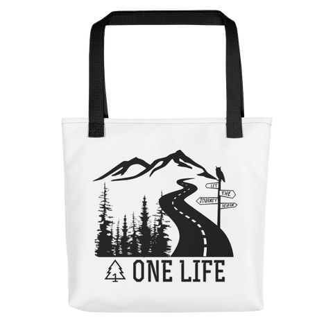 Let the Journey Begin Tote