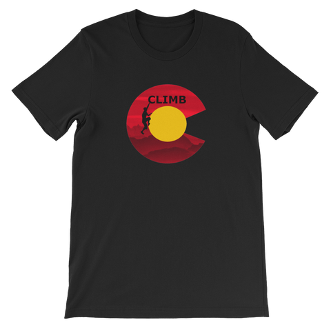 CLIMB COLORADO - Short Sleeve T-Shirt