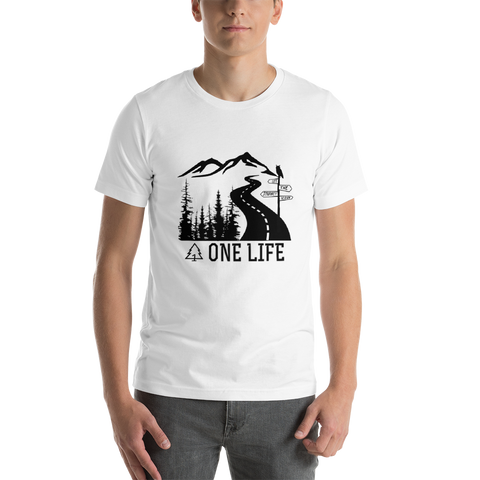 LET THE JOURNEY BEGIN - Men's T-Shirt