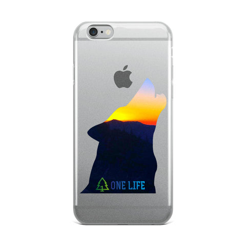 ONE LIFE HOWLING - iPhone Case