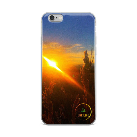 ONE LIFE GOLDEN FIELDS - Colorado iPhone Case