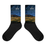 GOLDEN NIGHT SKY SOCKS