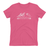 THE MOUNTAINS ARE CALLING & I MUST GO - Short Sleeve T-Shirt