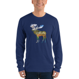 ONE LIFE MOOSE - Men's Long Sleeve