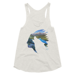 ONE LIFE WOLF - Women's Tri-Blend Tank