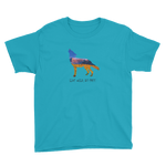 LIVE WILD, BE FREE - Youth Short Sleeve T-Shirt
