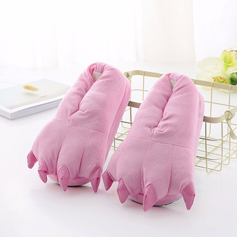 Chaussons Pattes Rose