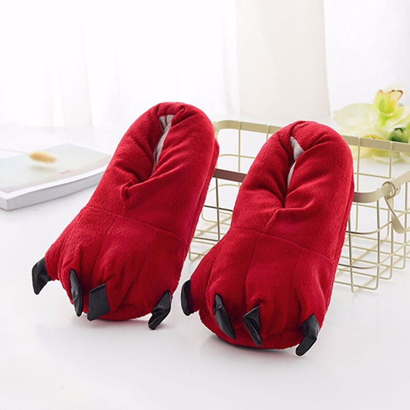 Chaussons Pattes Rouge