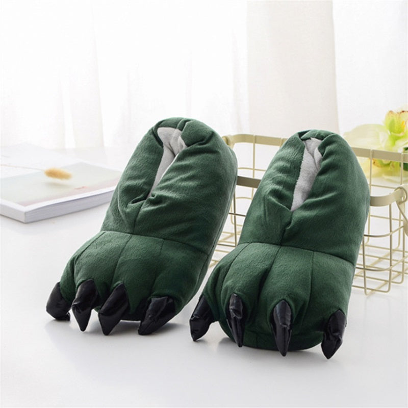 Chaussons Pattes Verte