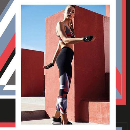 Yoga Sets  Women Quick Dry Tracksuit Running Sports Suit Female Fitness Bra Elastic Workout Leggings Gym Clothing 2 Pieces Set - Atoutgirls.com