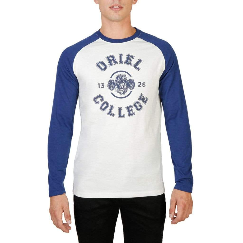 T-shirt Homme Oxford University - ORIEL-RAGLAN-ML - Atoutgirls.com