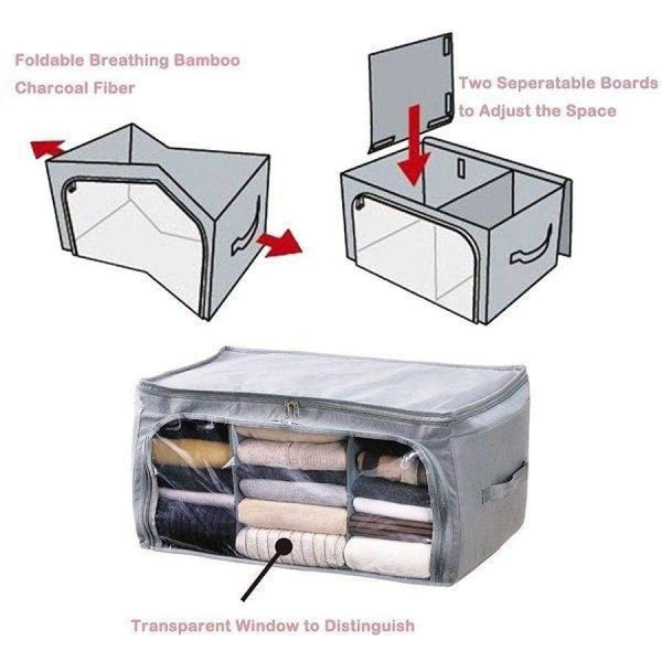 Transparent Clothes Quilts Folding Storage Bags