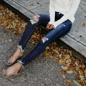 Fashion Slim-Cut Pencil And Skinny Jeans