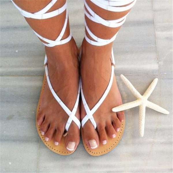 Fashion Ankle   Strap Beach Sandals