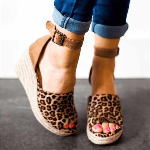 Fashion Vintage   Wedge Sandals