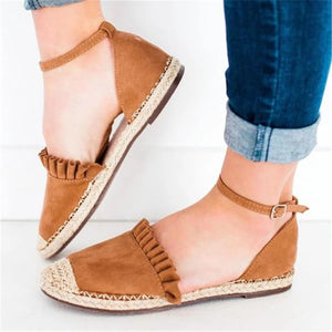 Fashion Wild   Lace Flat Casual Shoes