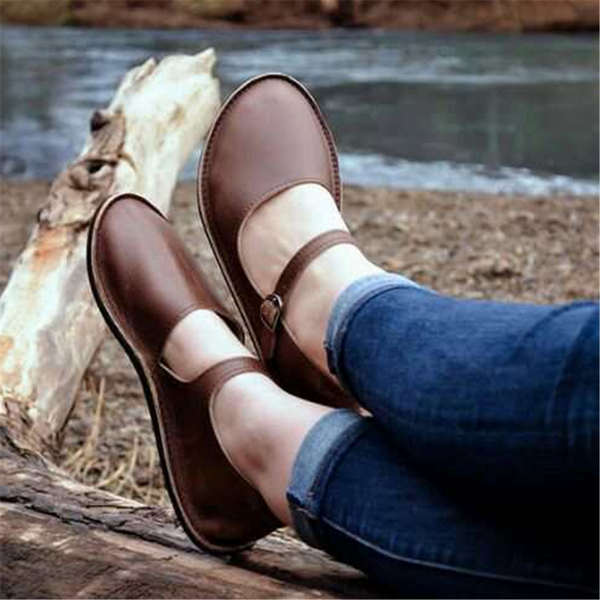 Fashion Retro Comfortable  Flat Shoes
