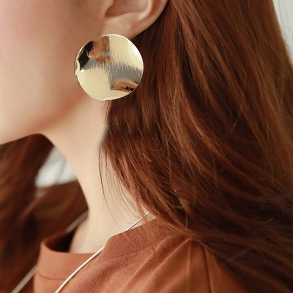 Fashion Vintage Gold Temperament Earrings