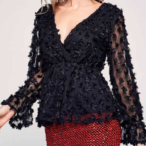 Women's Elegant Lace Shirt