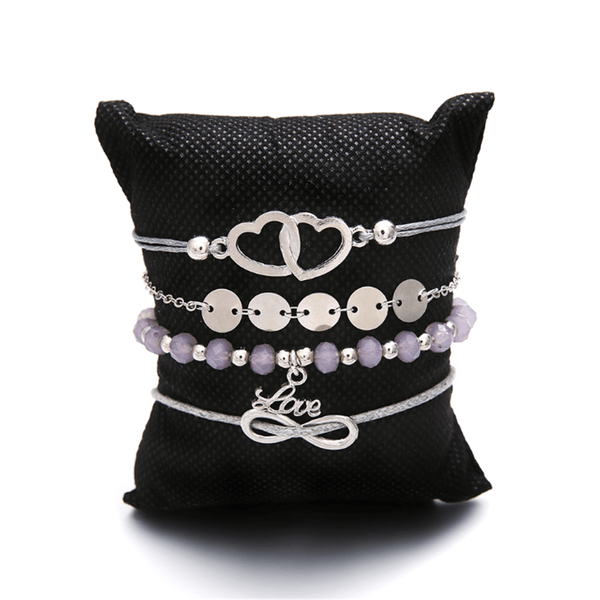Fashion Personality Letter Beaded Bracelet