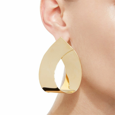 New Fashion Jewelry Geometric Drop Metal Earrings