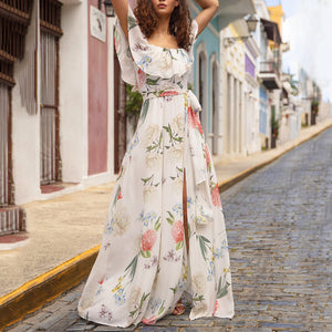 Fashion Printed Maxi Dress