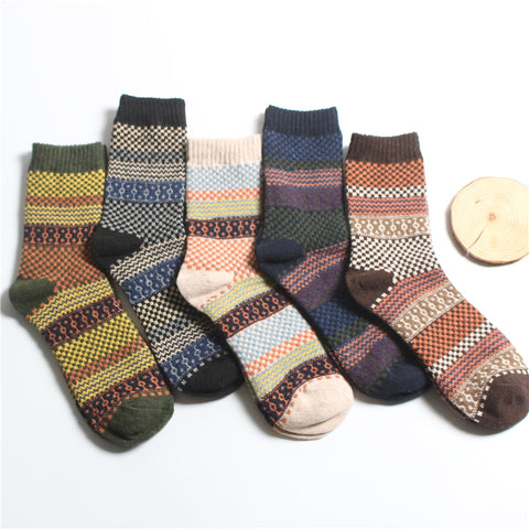 Men's Retro Thick Socks
