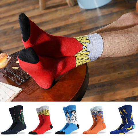 Men's Fashion Food Socks