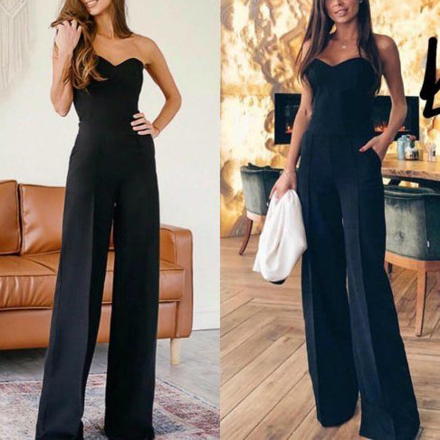 Elegant Off-shoulder jumpsuits for women