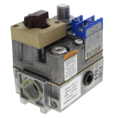 Honeywell V800A1088 Válvula control 24V Gas LP / Natural