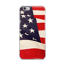 Waving Flag iPhone Case