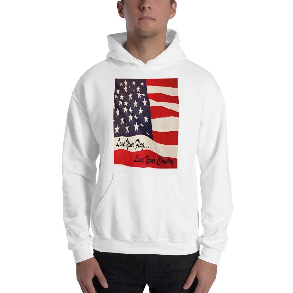 Love Your Country  Sweatshirt