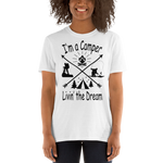 I'm a Camper T Shirt in Black