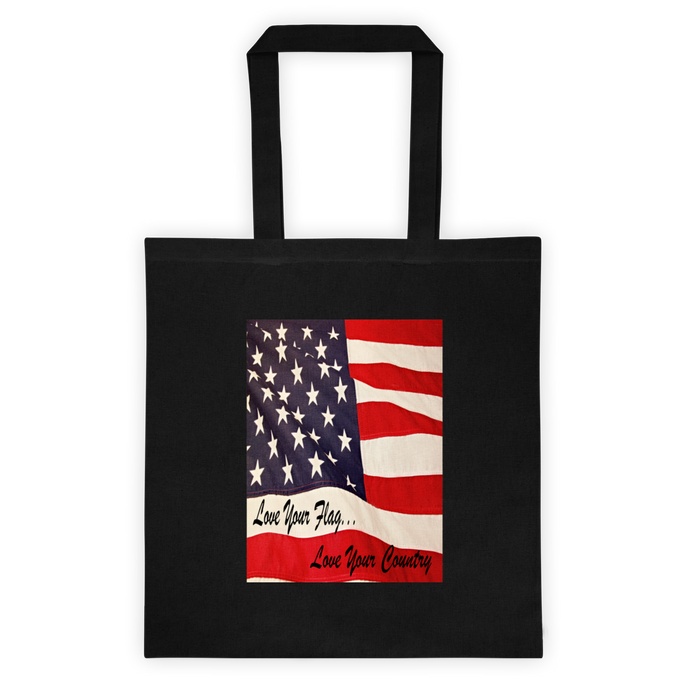 Love Your Flag Tote bag