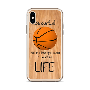 Basketball = Life  iPhone Case
