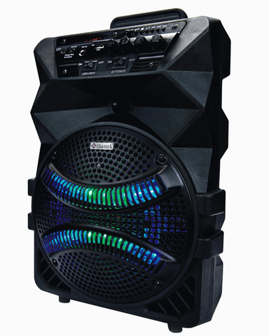 Bluetooth Party Speaker LED Rechargeable 8 inch