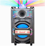 Bluetooth Party Speaker LED Disco Light Loud Audio 10 inch front