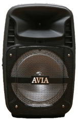 Avia 8 inch party PA speaker with microphone