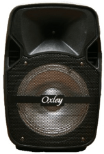 "8"" Rechargeable Speaker Oxley Bluetooth Speaker- Avia 0811NM"