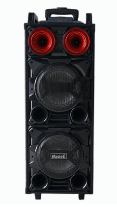 "8"" Bluetooth Subwoofer Party Speaker Front View"