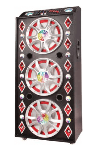"Max Power 1503 - 3 x 15"" Professional Party Speaker System"