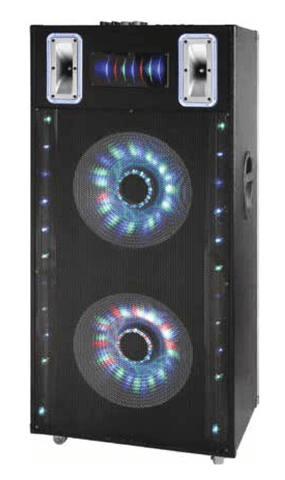 "Max Power 1818 - 2 x 18"" Professional Party Speaker System"