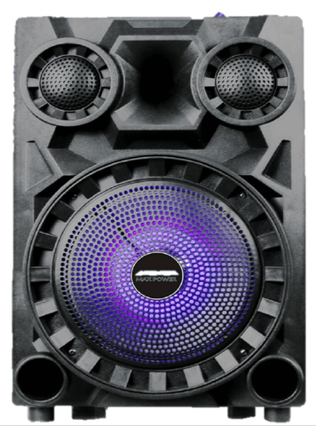 "Max Power 833 - 8"" Rechargeable Speaker"